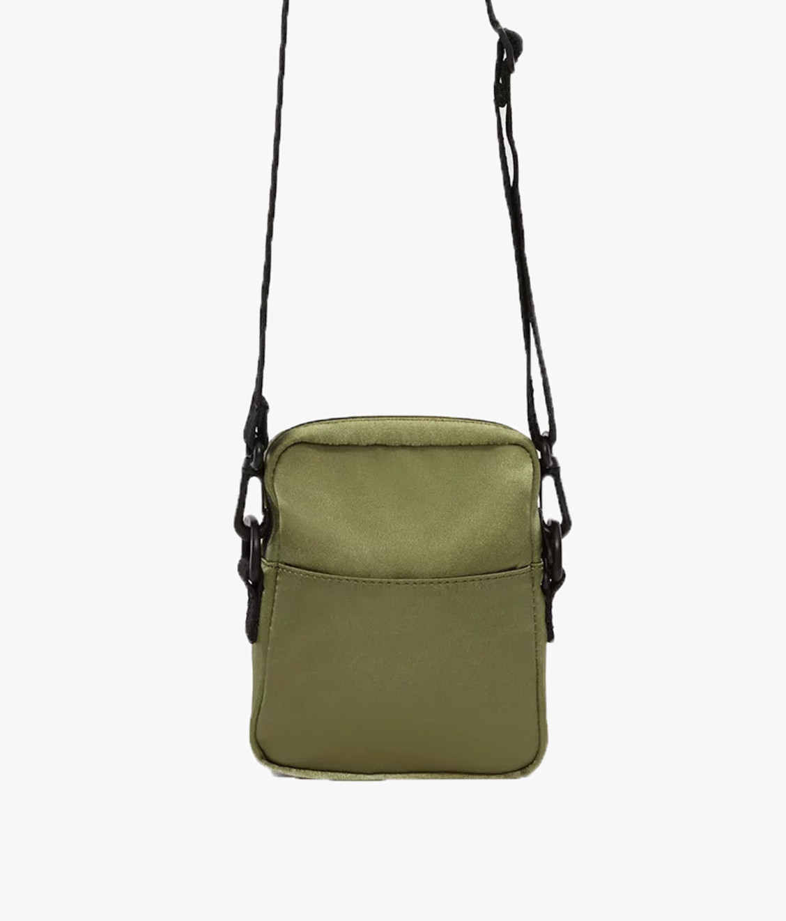 Opening Ceremony Opening Ceremony Logo Satin Cross Bag Army Green