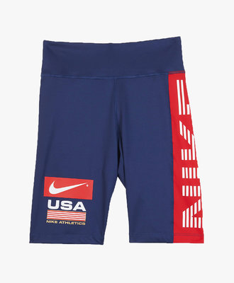 Nike W Nike NRG Bike Shorts Navy USA