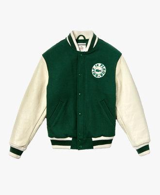 lacoste Lacoste X Golf Wang Varsity Jacket Green