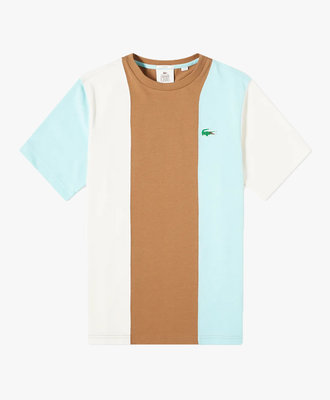 lacoste Lacoste X Golf Wang Tee Brown