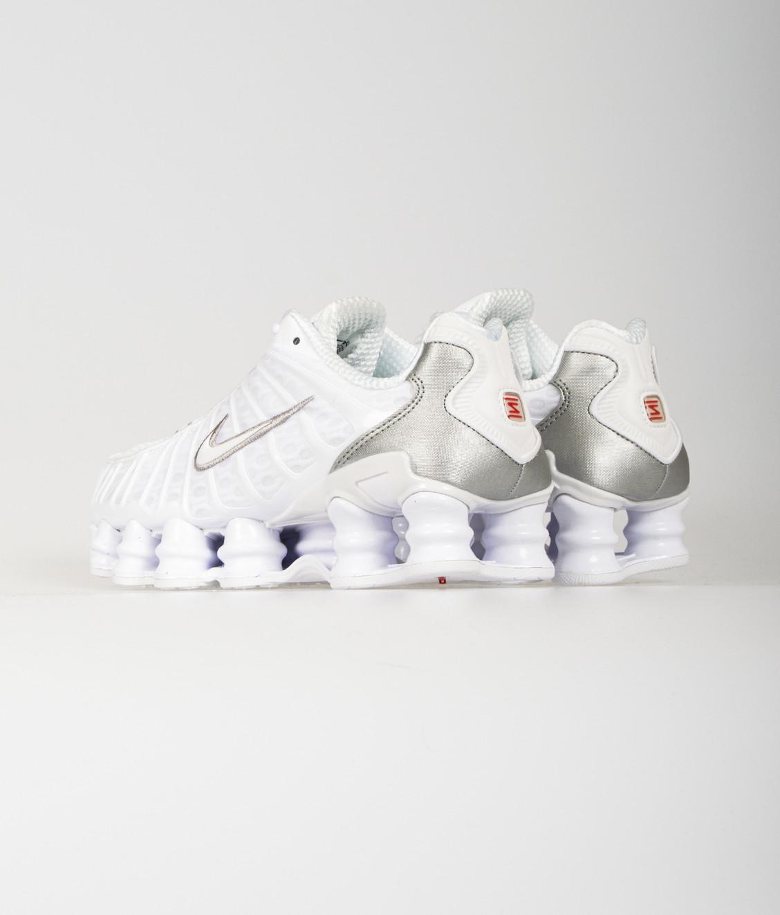 Nike Nike Shox TL White Metallic Silver