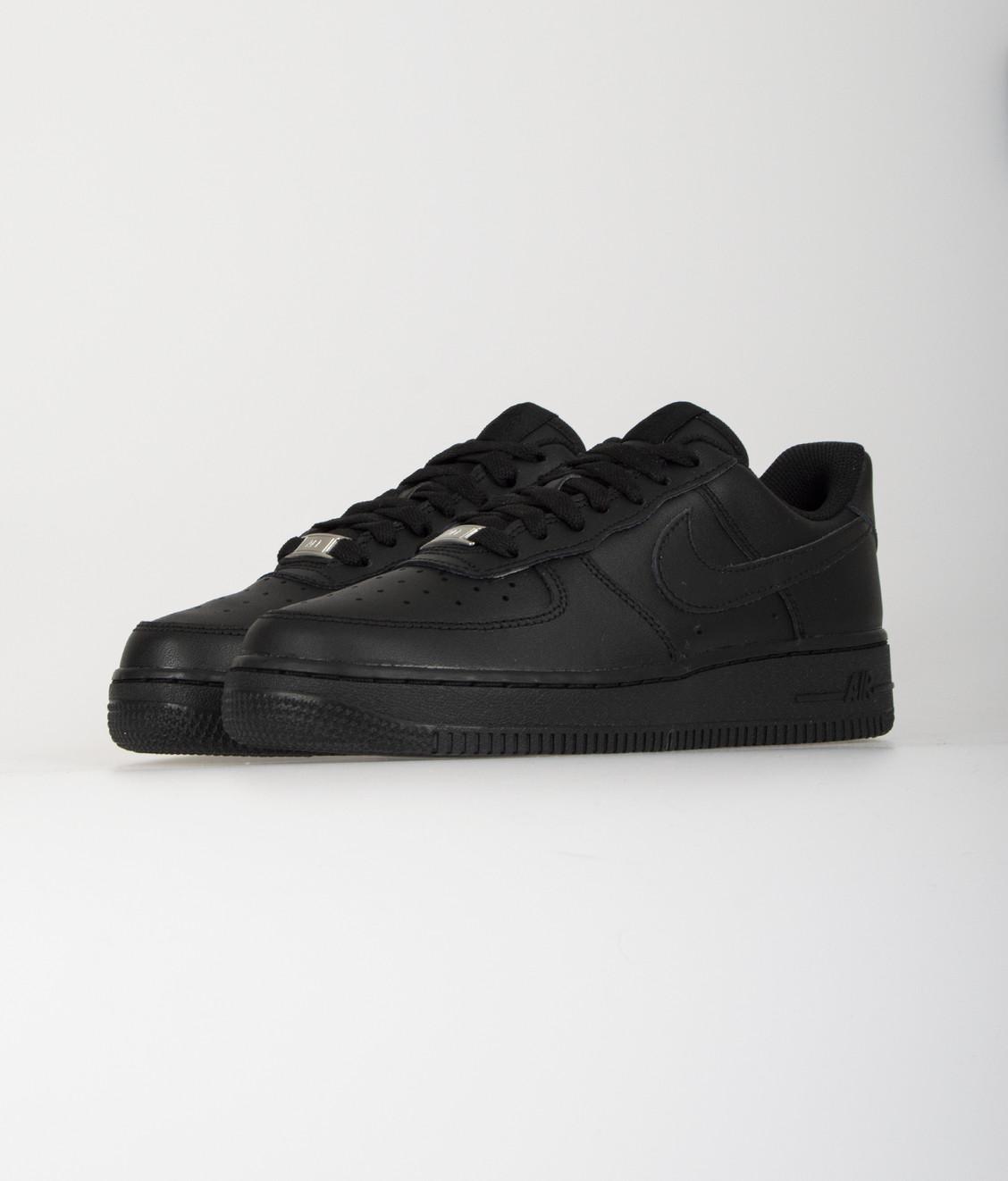 Nike Nike W Air Force 1 07 Black Black