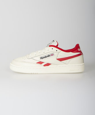 Reebok Reebok Club C Revenge Mu Chalk Rebel Red
