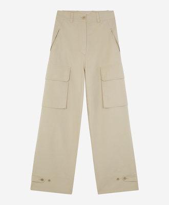 Maison Kitsune Maison Kitsune Army Pants Beige