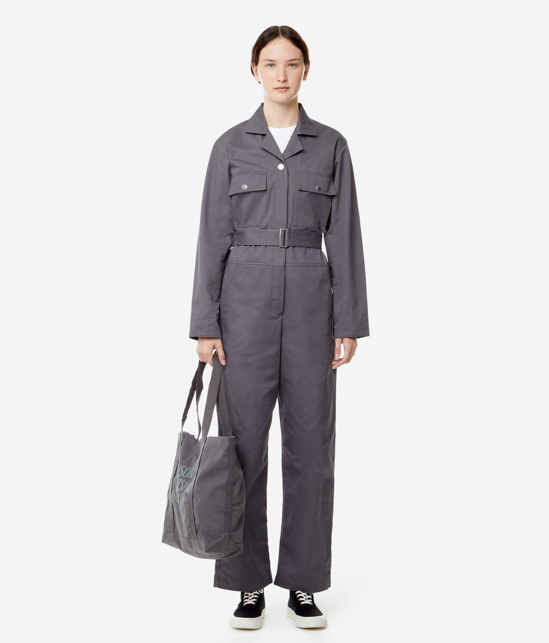Maison Kitsune Kitsune Worker Jumpsuit Grey