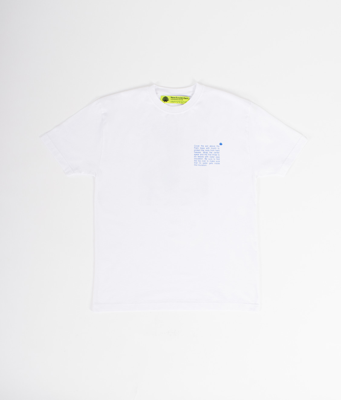 New Amsterdam New Amsterdam Cold Palm Tee White