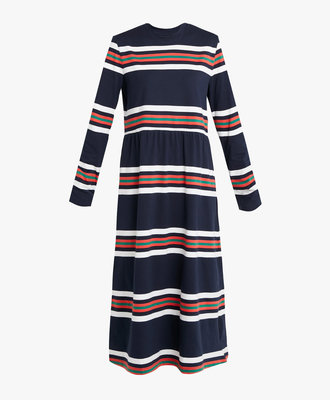 Libertine Libertine Libertine Zink Dress Blue Stripe