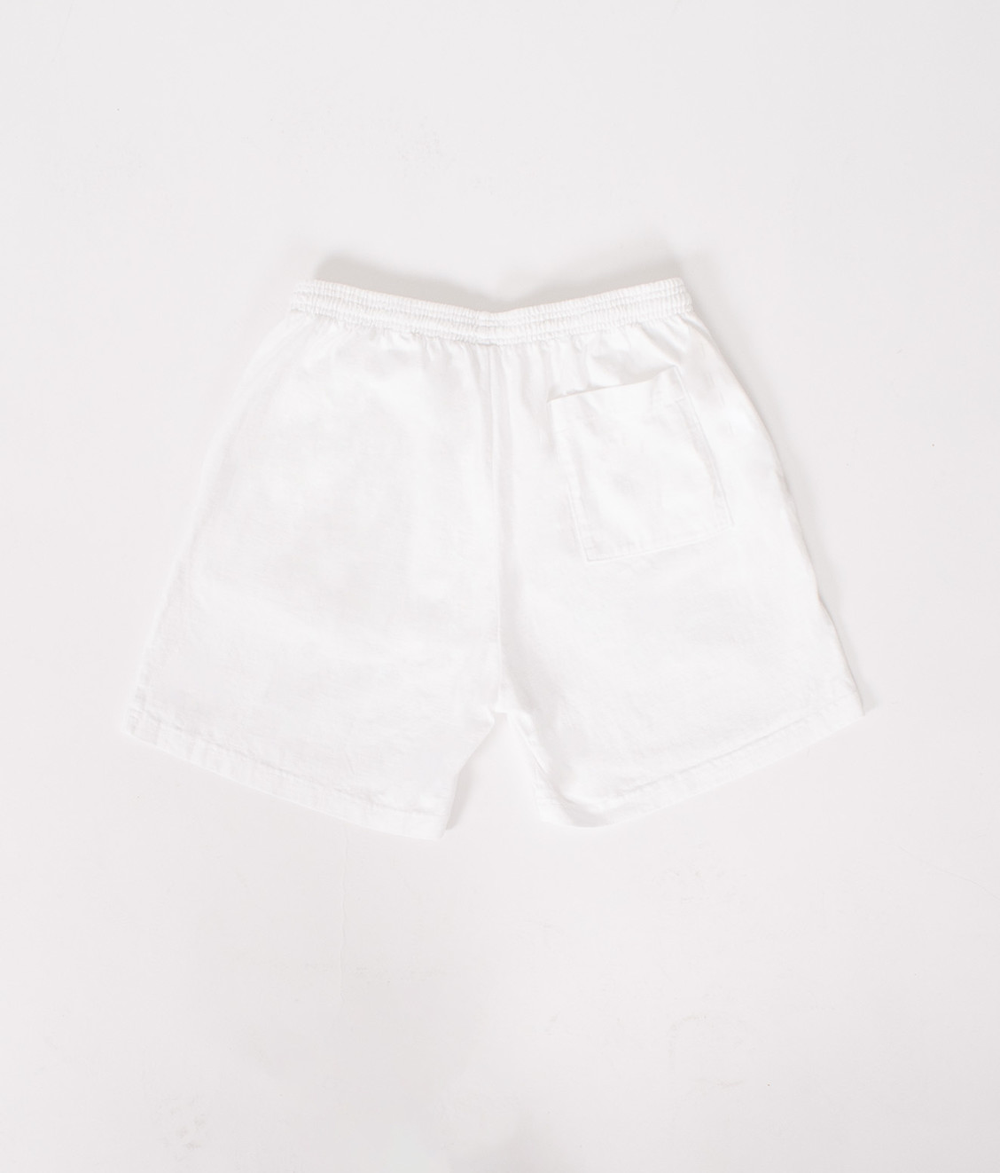 Sporty and Rich Sporty and Rich Logo Gym Short White