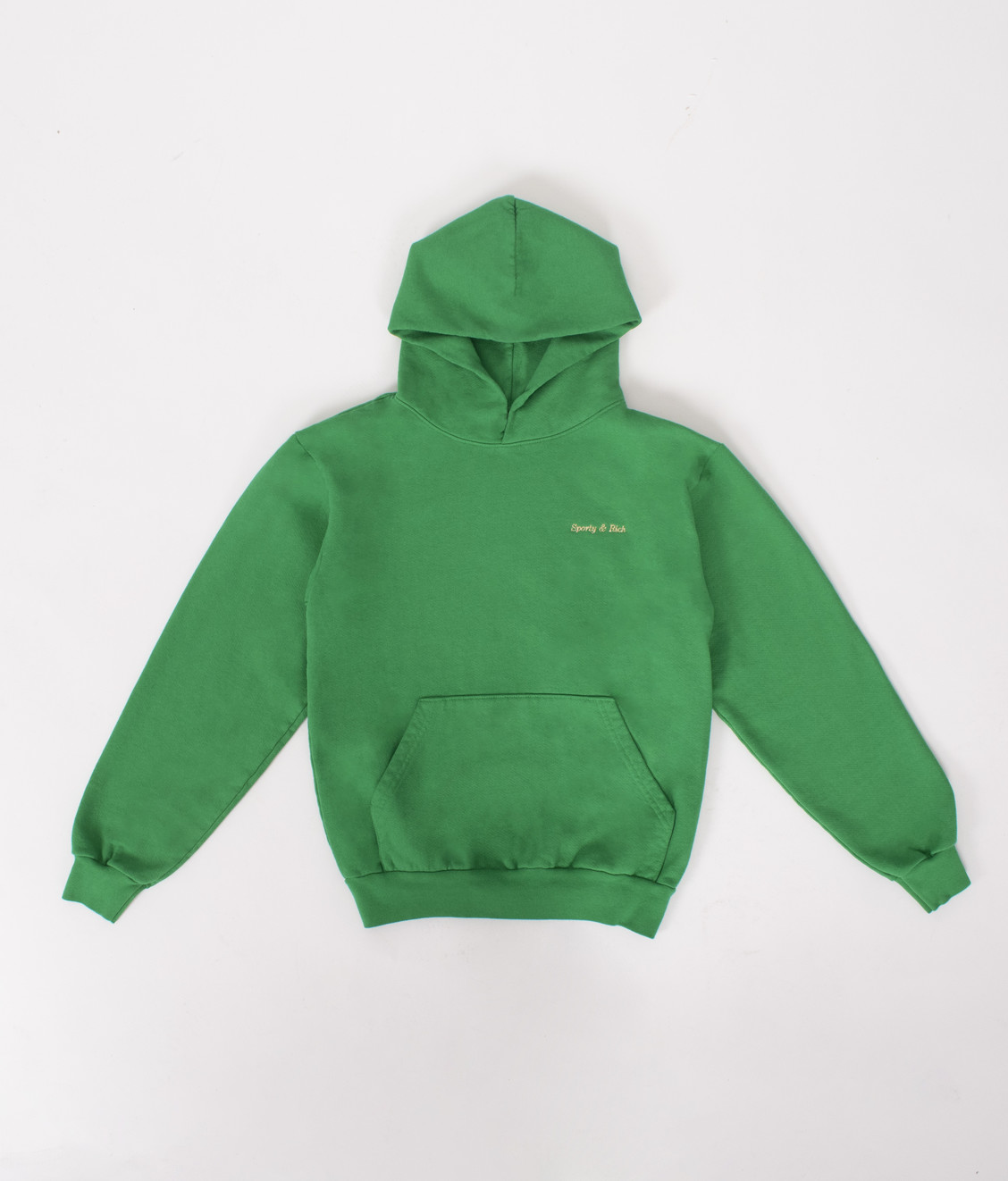 Sporty and Rich Sporty and Rich Classic 14oz. Hoodie Kelly Green
