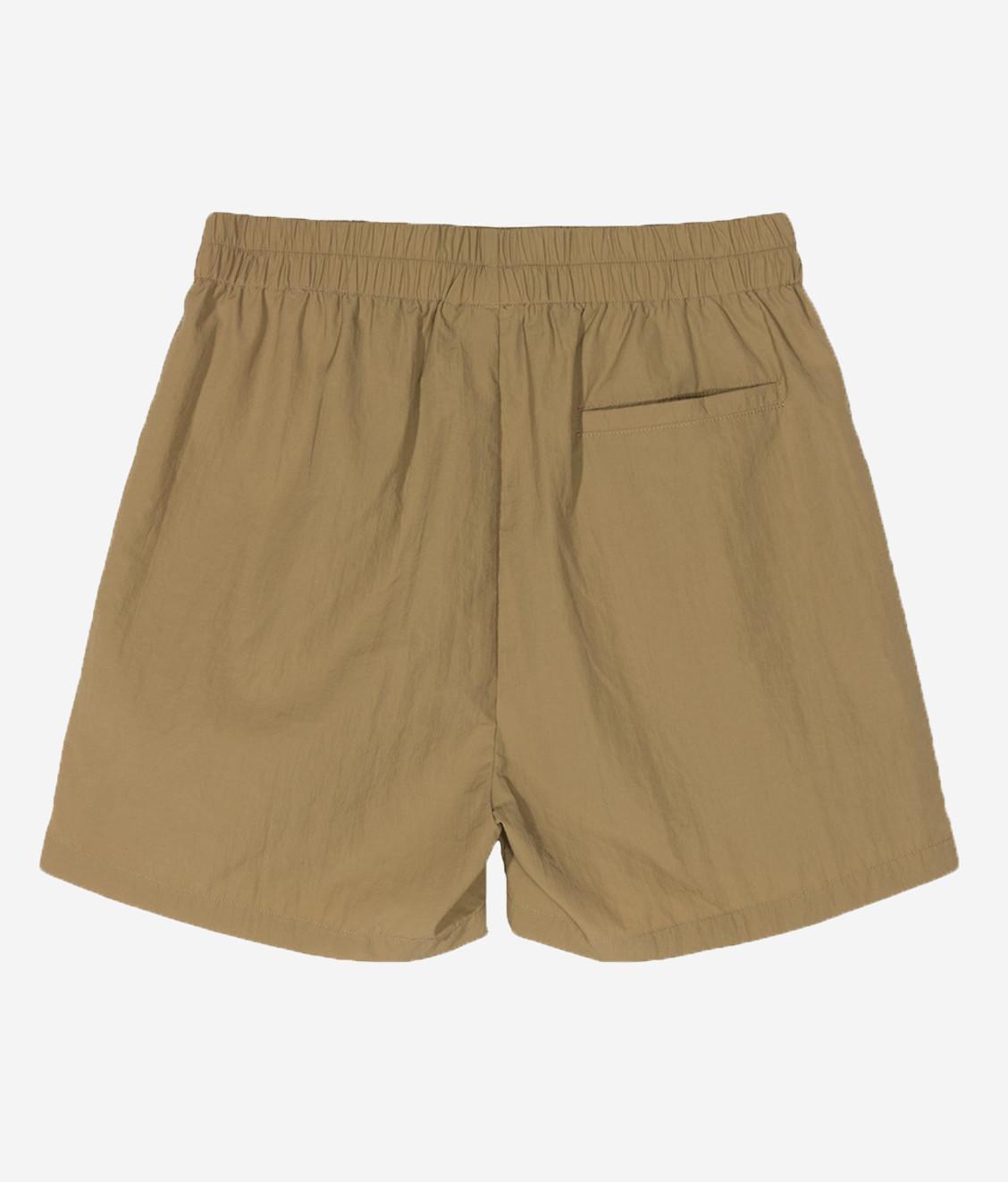 Stussy Stussy League Crinkle Short Khaki