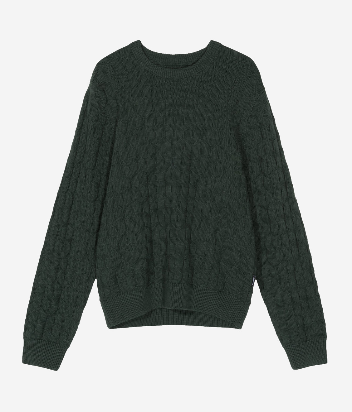 Stussy Stussy Strand Sweater Forest Green