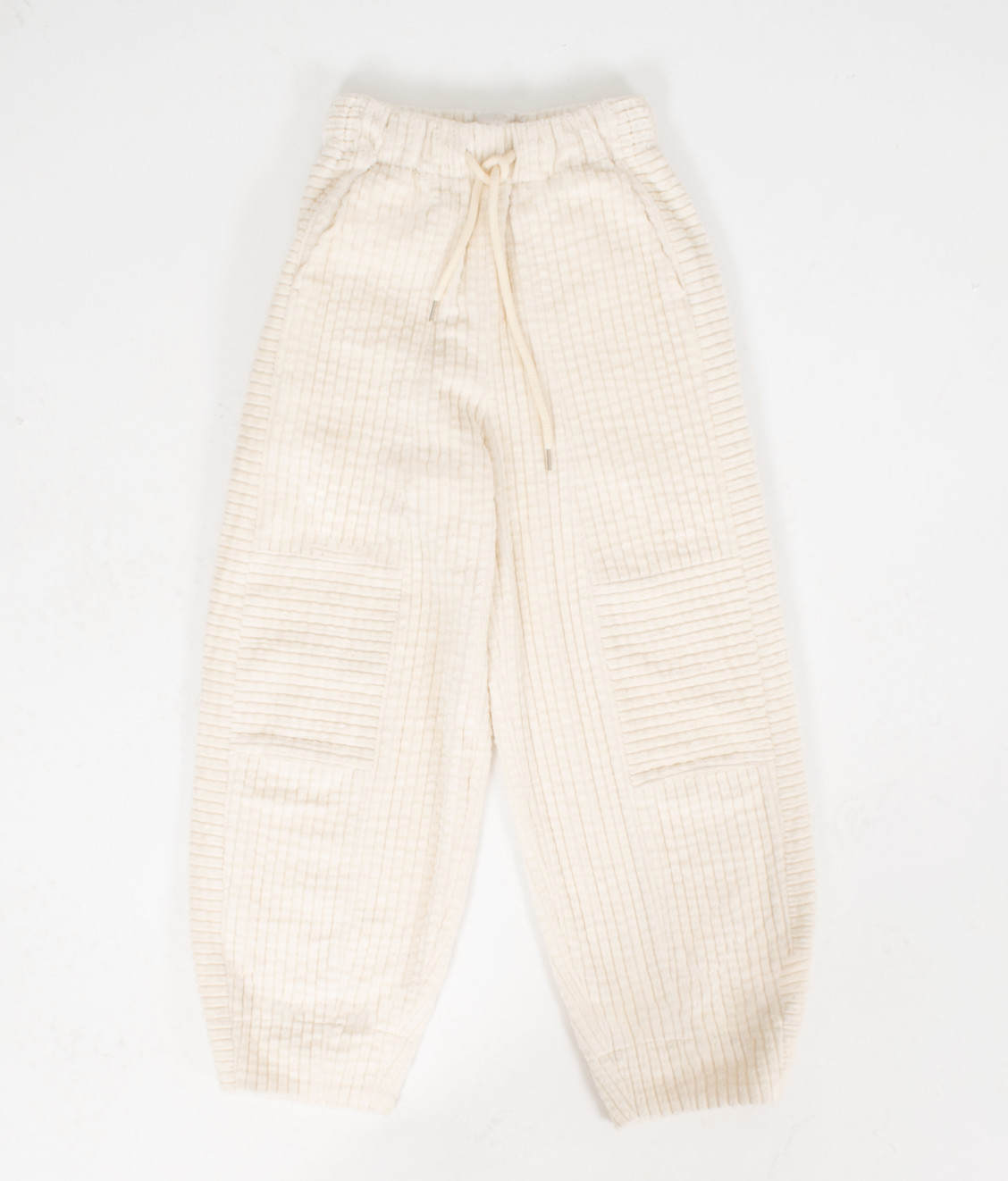 NEUL Neul Bold Corduroy Comfy Pants Pearled Ivory