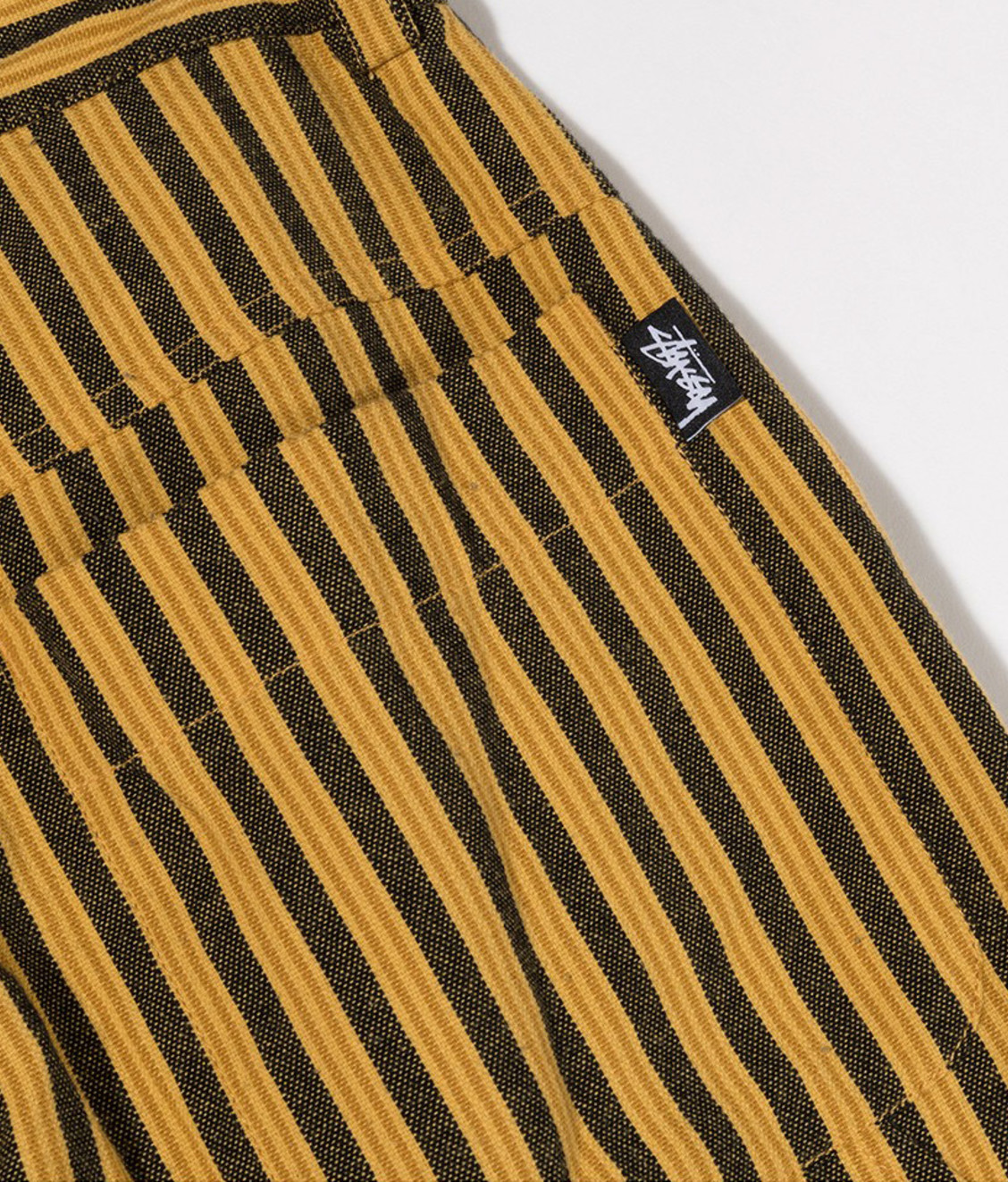 Stussy Stussy Piper Stripe Carpenter Pant Gold