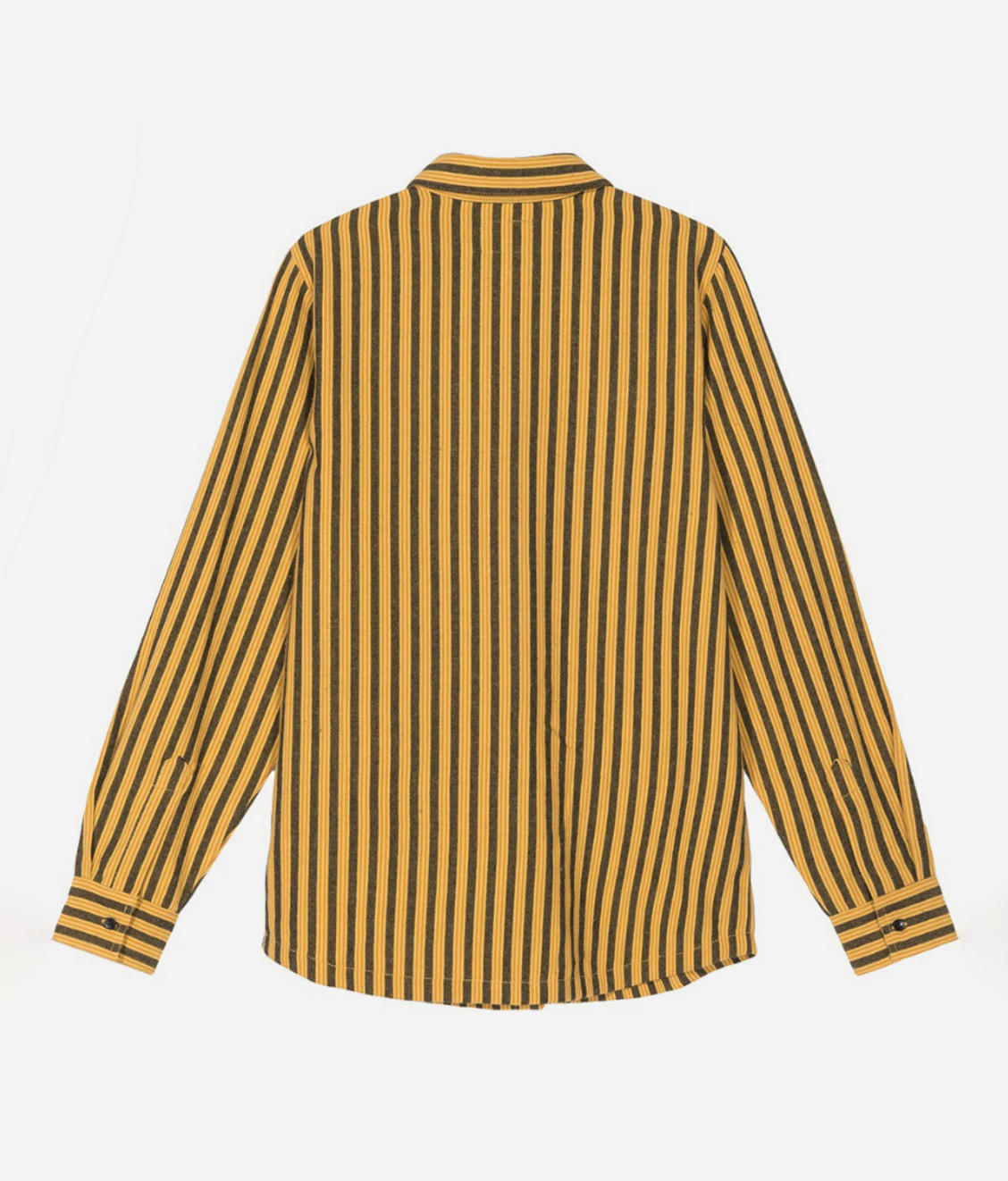 Stussy Stussy Piper Stripe Ls Shirt Gold