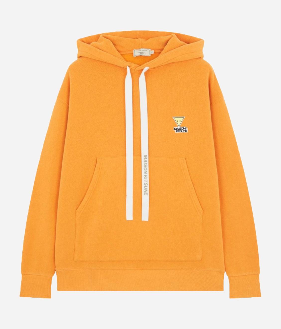 Maison Kitsune Kitsune Oversized Hoodie Orange