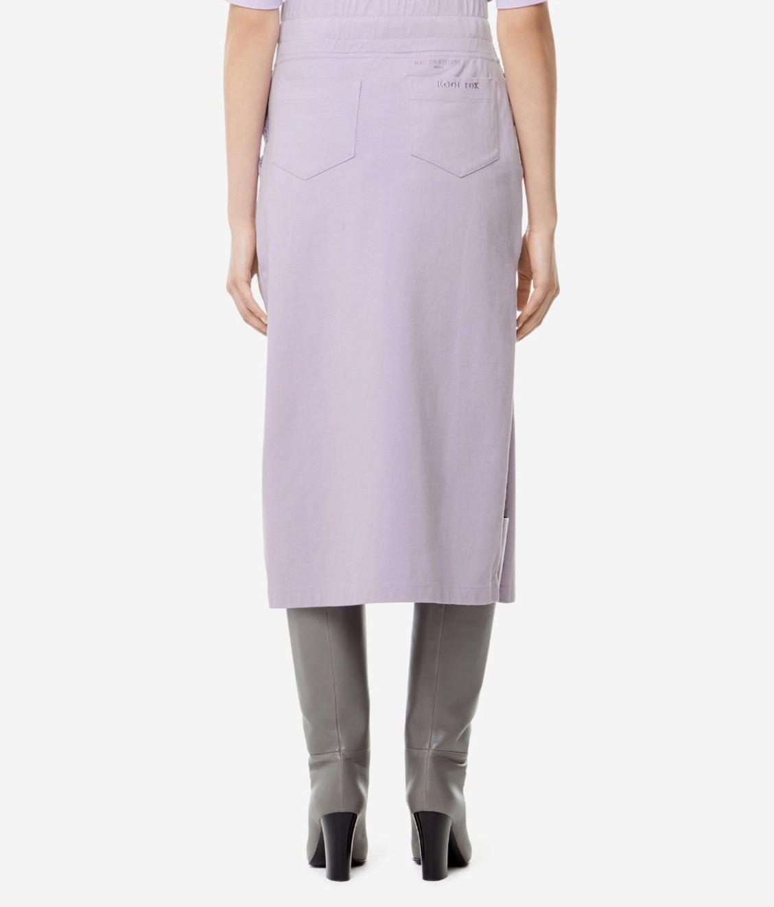 Maison Kitsune Kitsune Sweat Skirt Lilac