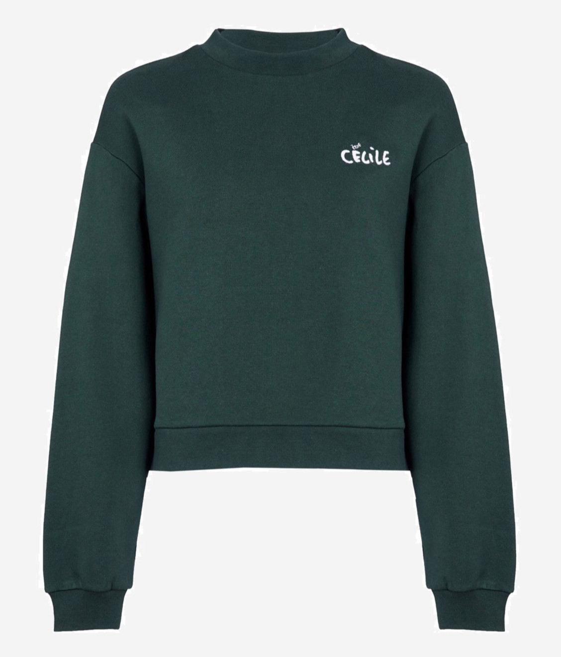 Etre Cecile Cateyes Alexis Sweatshirt Deep Green