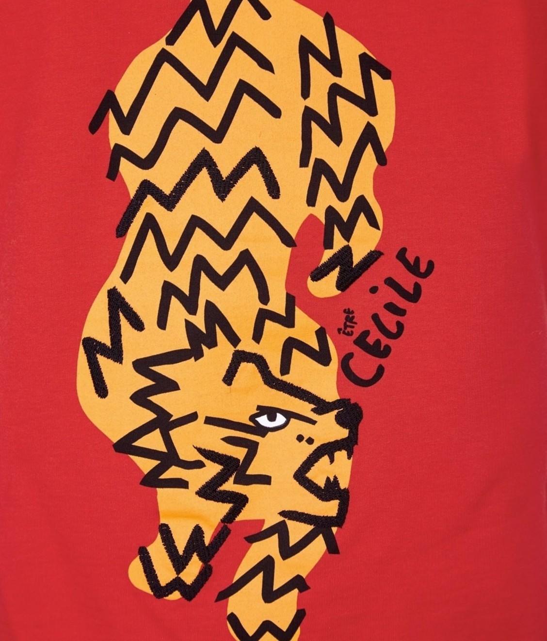 Etre Cecile Tamé Inez Shirt Flame Red