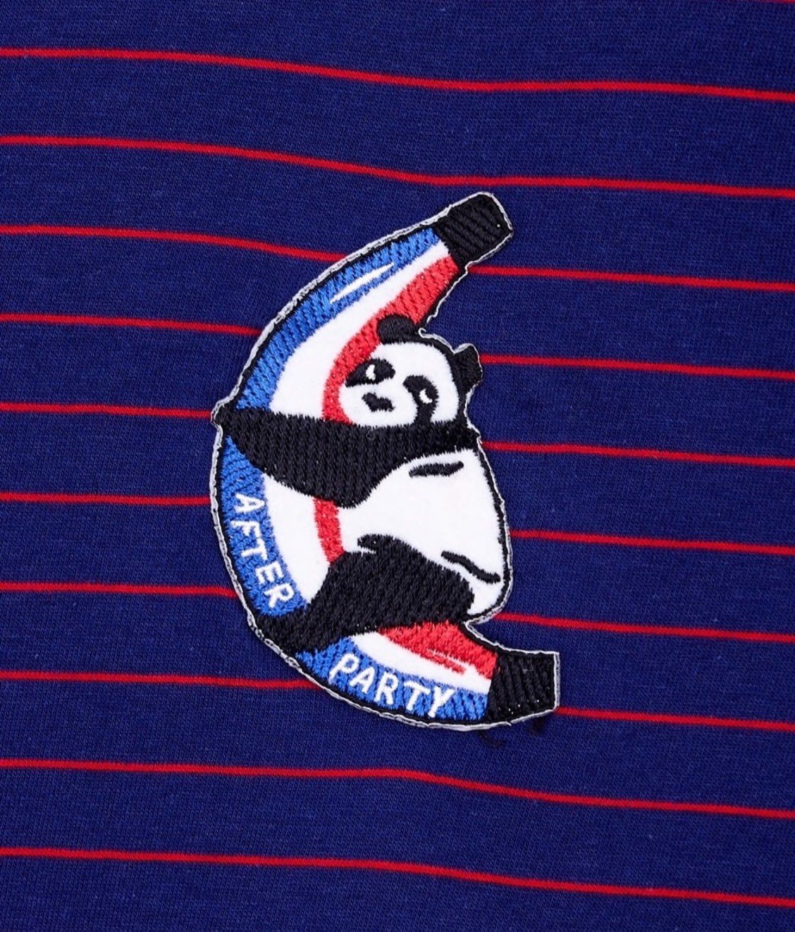 Etre Cecile Badge Sport Stripe T-Shirt