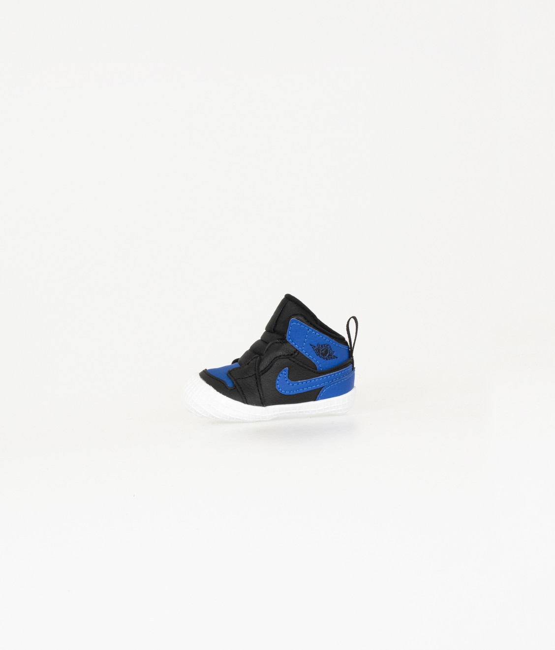 Nike Jordan 1 Black Varsity Royal Crib Bootie