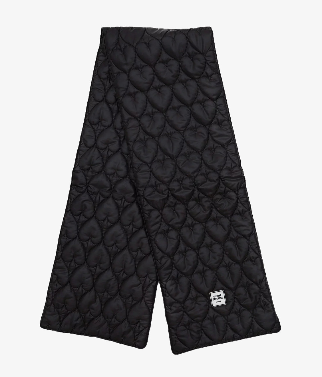 Opening Ceremony Opening Ceremony Quilted Scarf Black