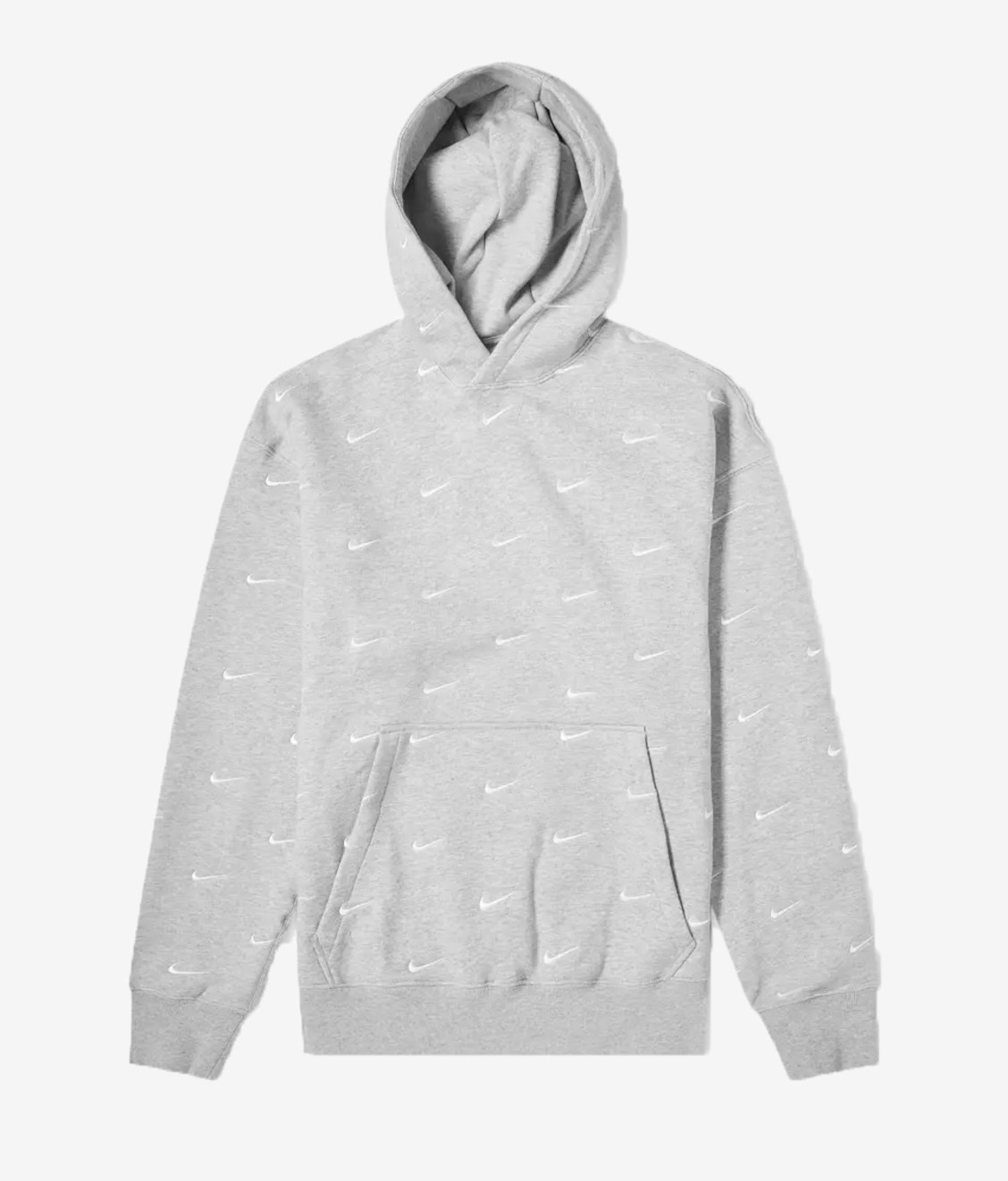 Nike Nike NRG All Over Swoosh Hoodie Grey