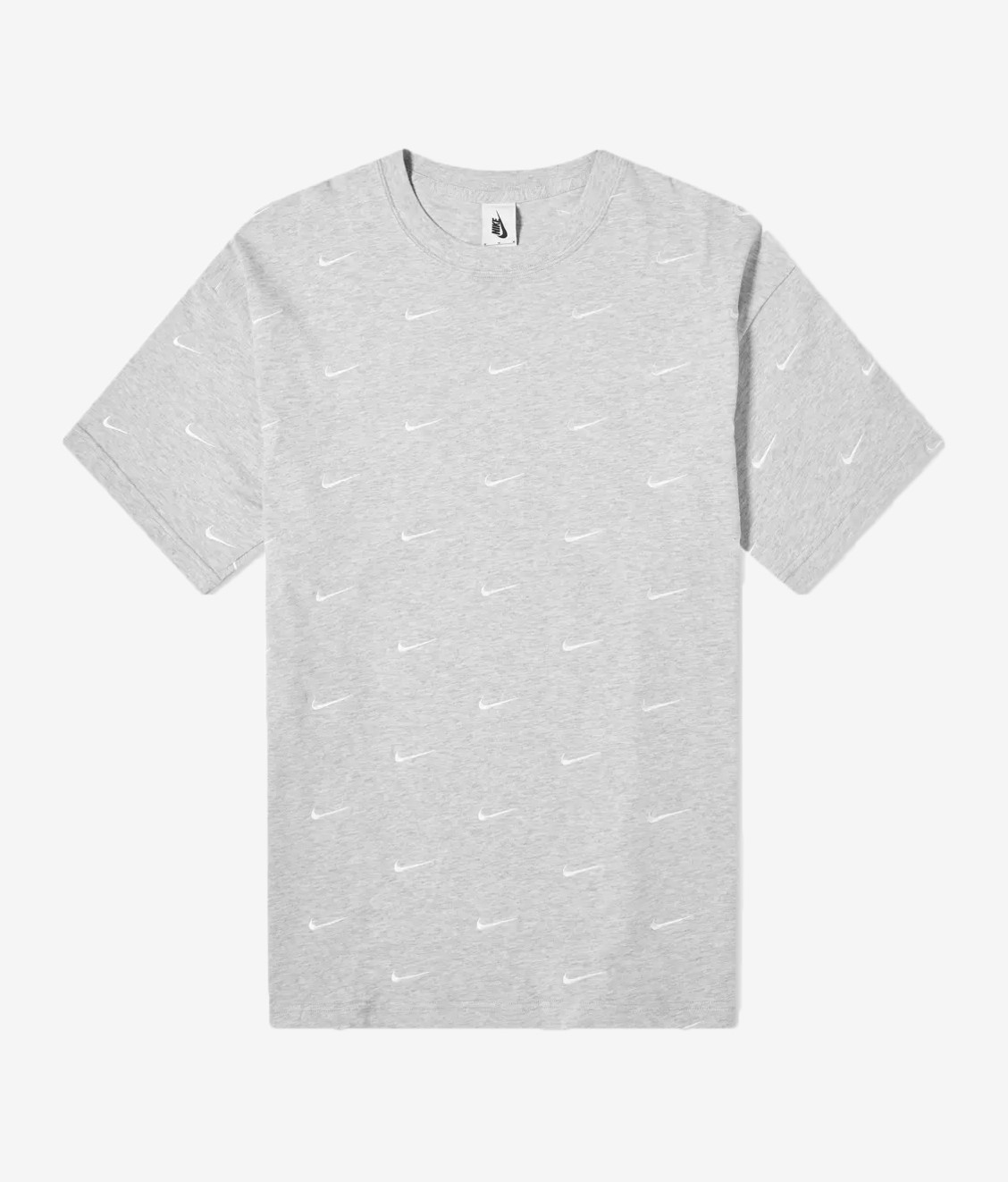Nike Nike All Over Swoosh Tee Grey