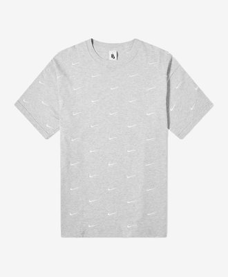 Nike Nike NRG All Over Swoosh Tee Grey