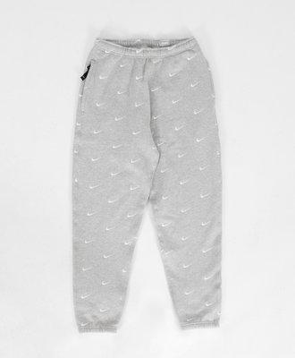 Nike Nike All Over Swoosh Sweat Pants Grey