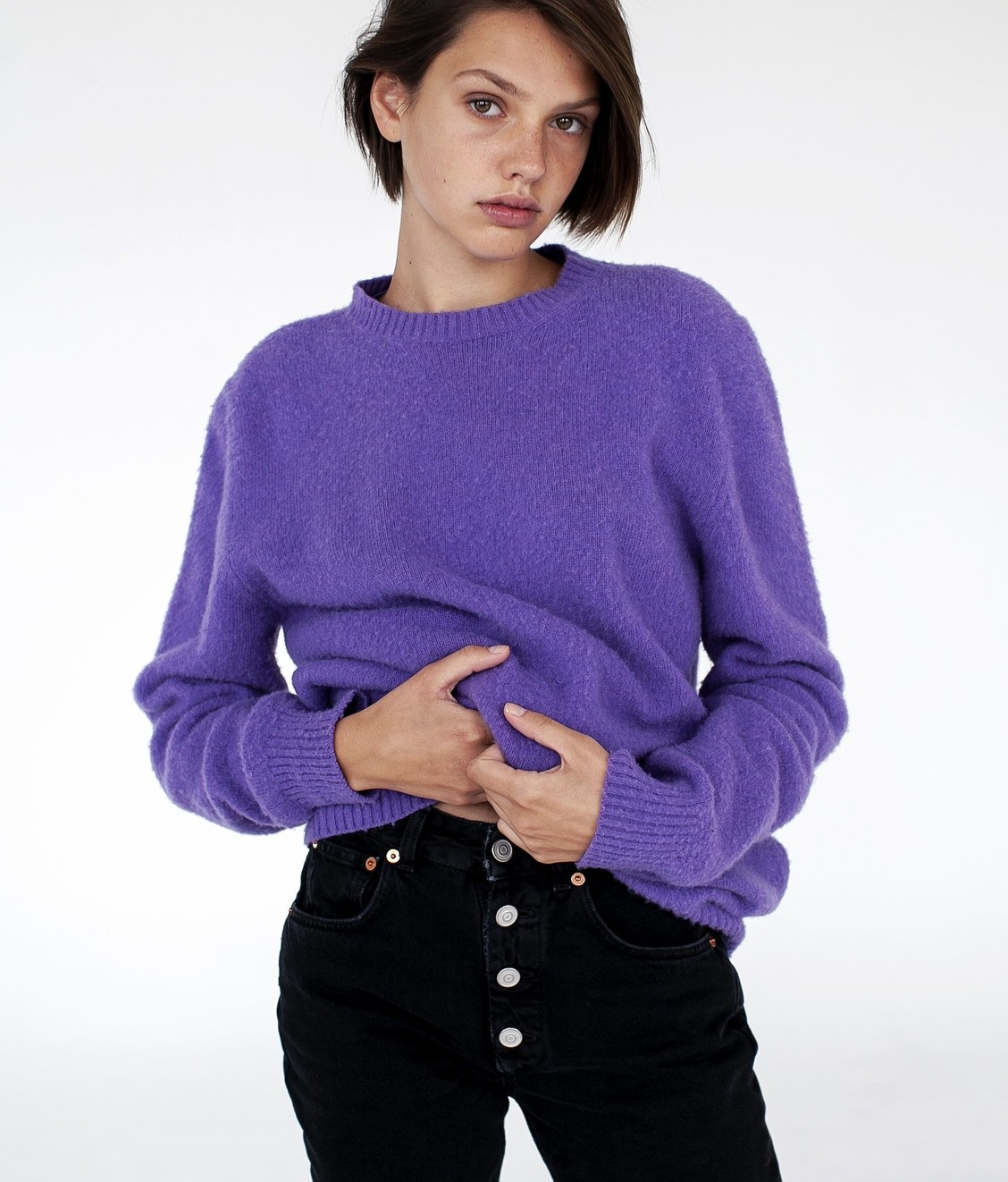Harmony X Emily Winston Knit Purple