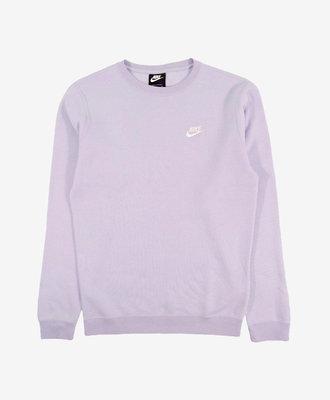 Nike Nike Club Fleece Crewneck Lavender Mist