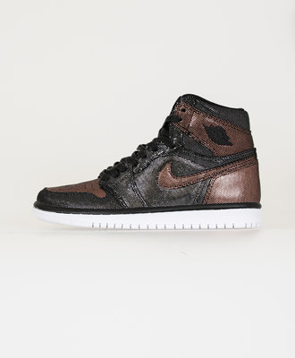 Nike Air Jordan 1 Hi OG Fearless Black-Rose Gold-White