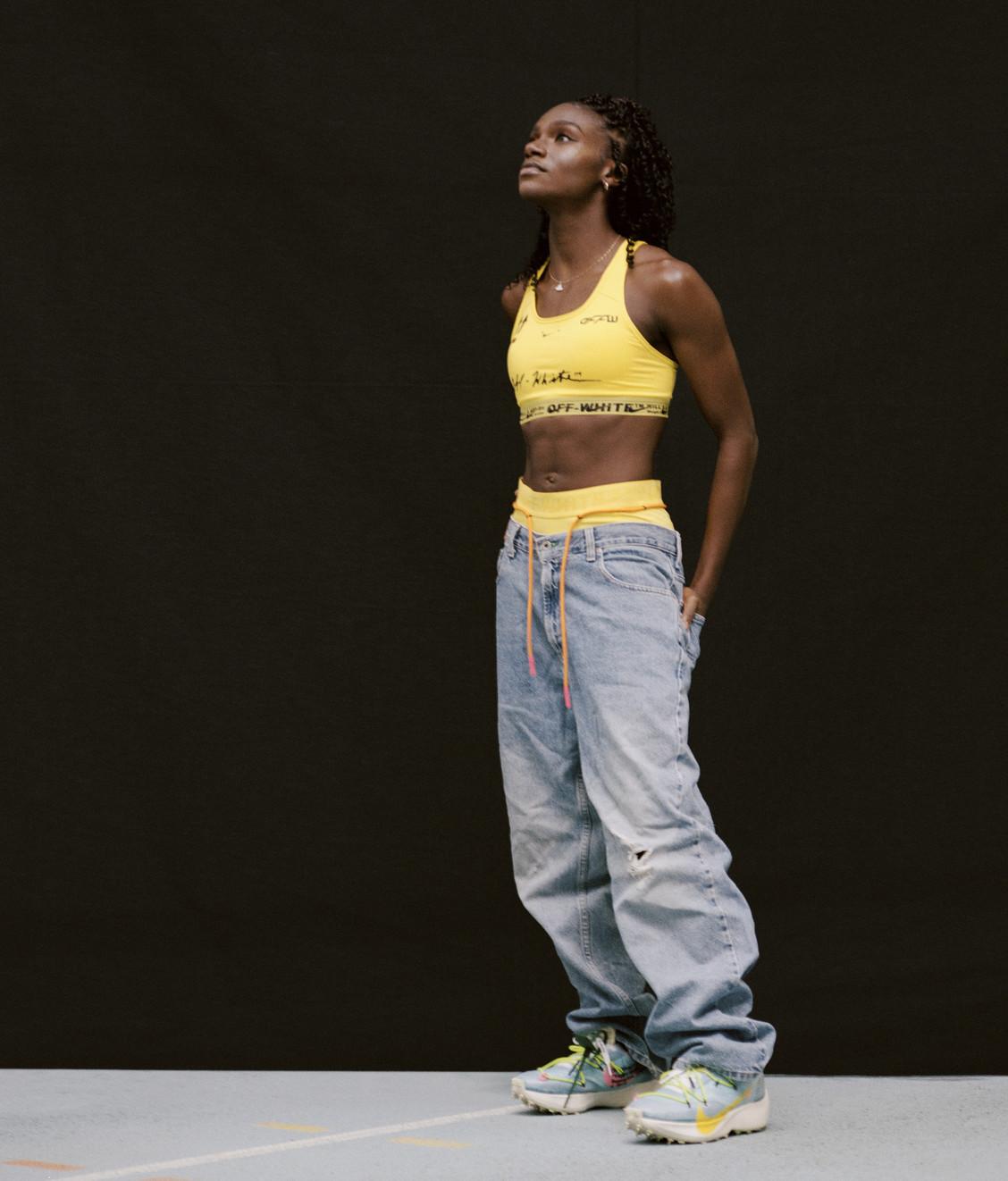 Nike Nike x Off White Bralette Opti Yellow