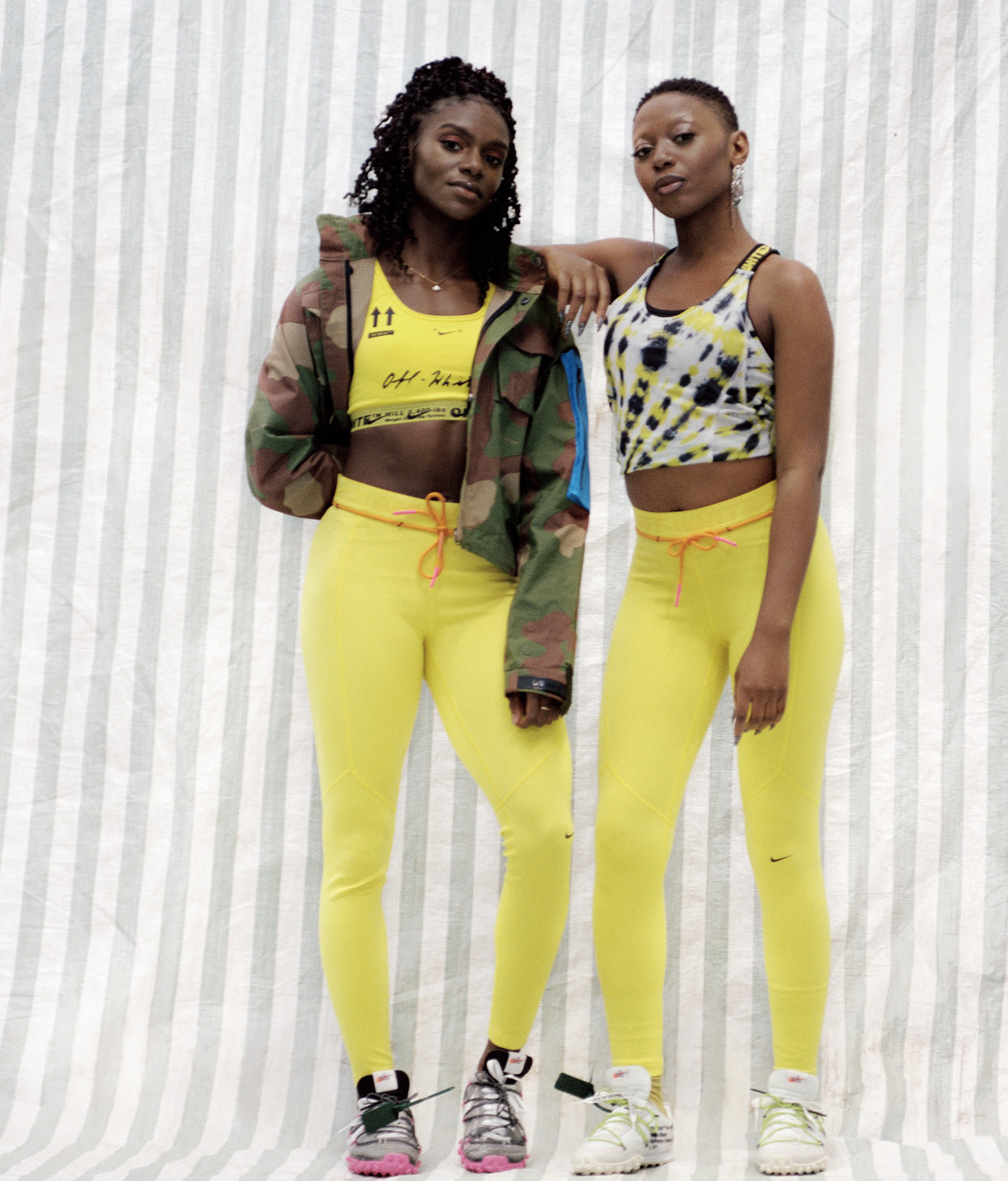 Nike Nike x Off White Tights NRG Opti Yellow