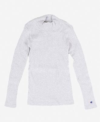 Champion Champion Turtle Neck Long Sleeves T-Shirt Grey