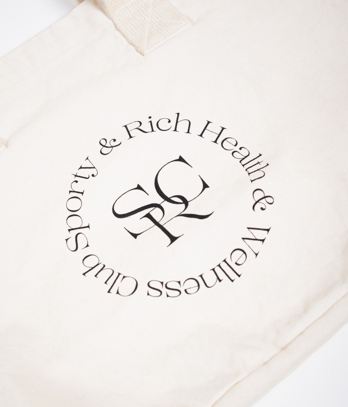 Sporty and Rich Sporty and Rich SRWC Logo Tote