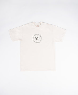 Sporty and Rich Sporty and Rich SRWC Logo Tee Cream
