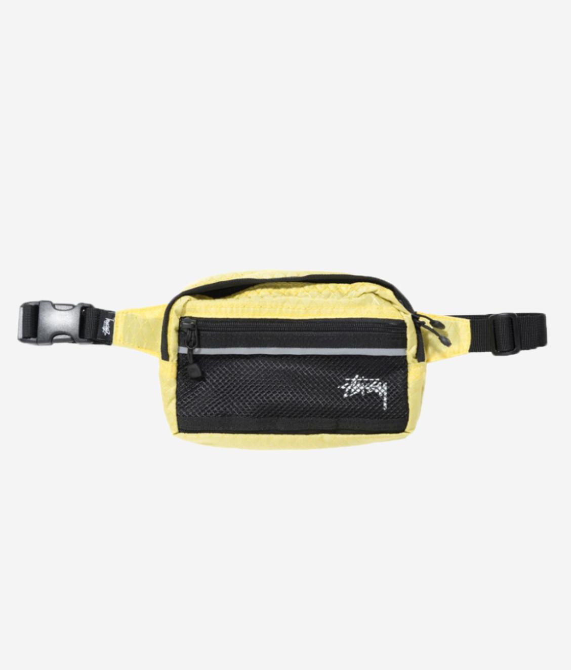 Stussy Copy of Stussy Diamond Ripstop Shoulder Bag Lime
