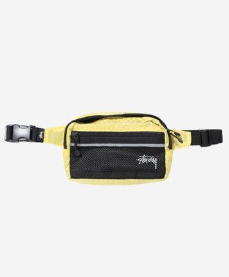Stussy Stussy Diamond Ripstop Waist Bag Lime