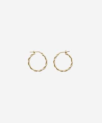 Golia Earrings Meadow Hoops
