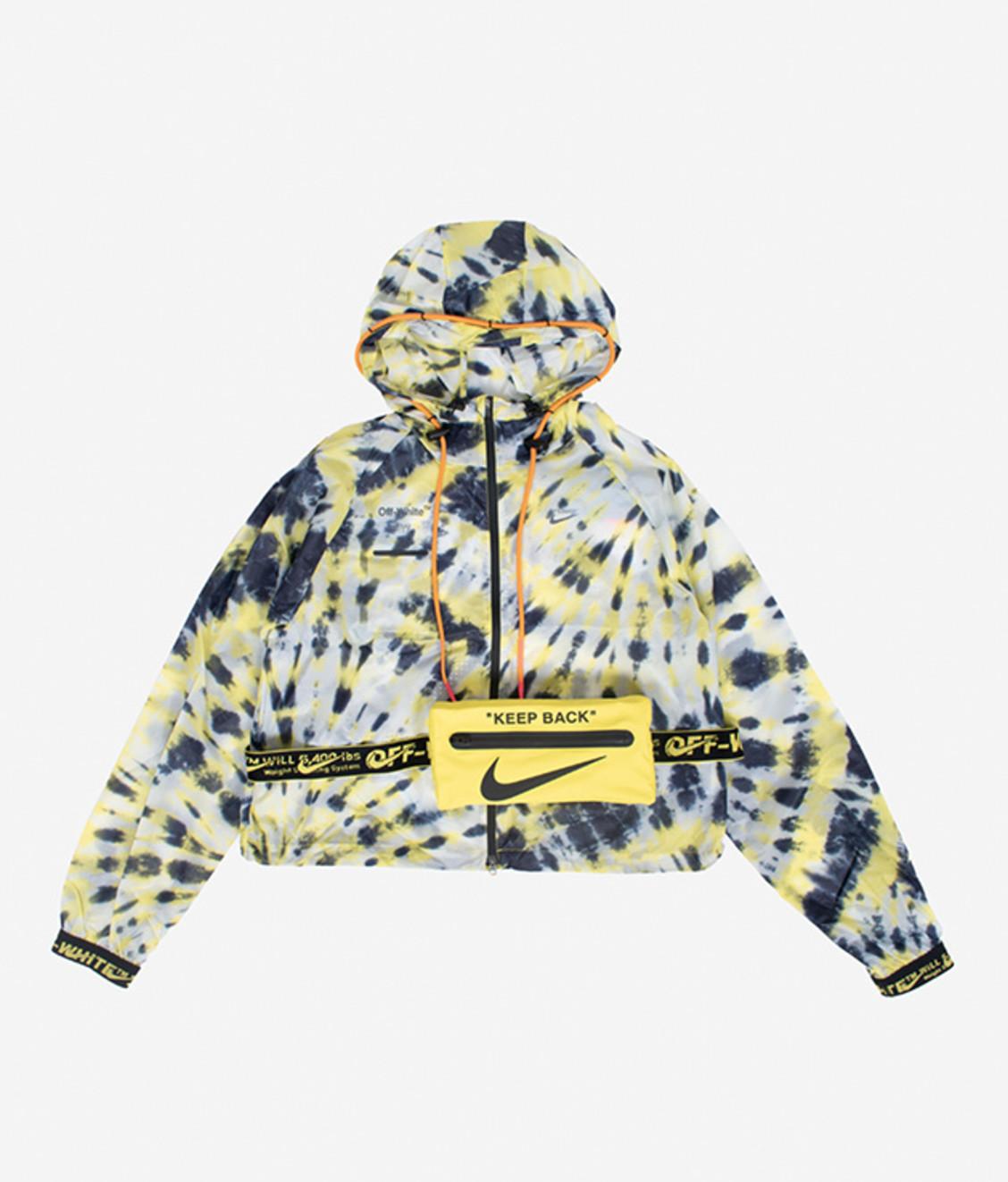 Nike Nike Off White NRG Jacket Tye Dye Volt #1