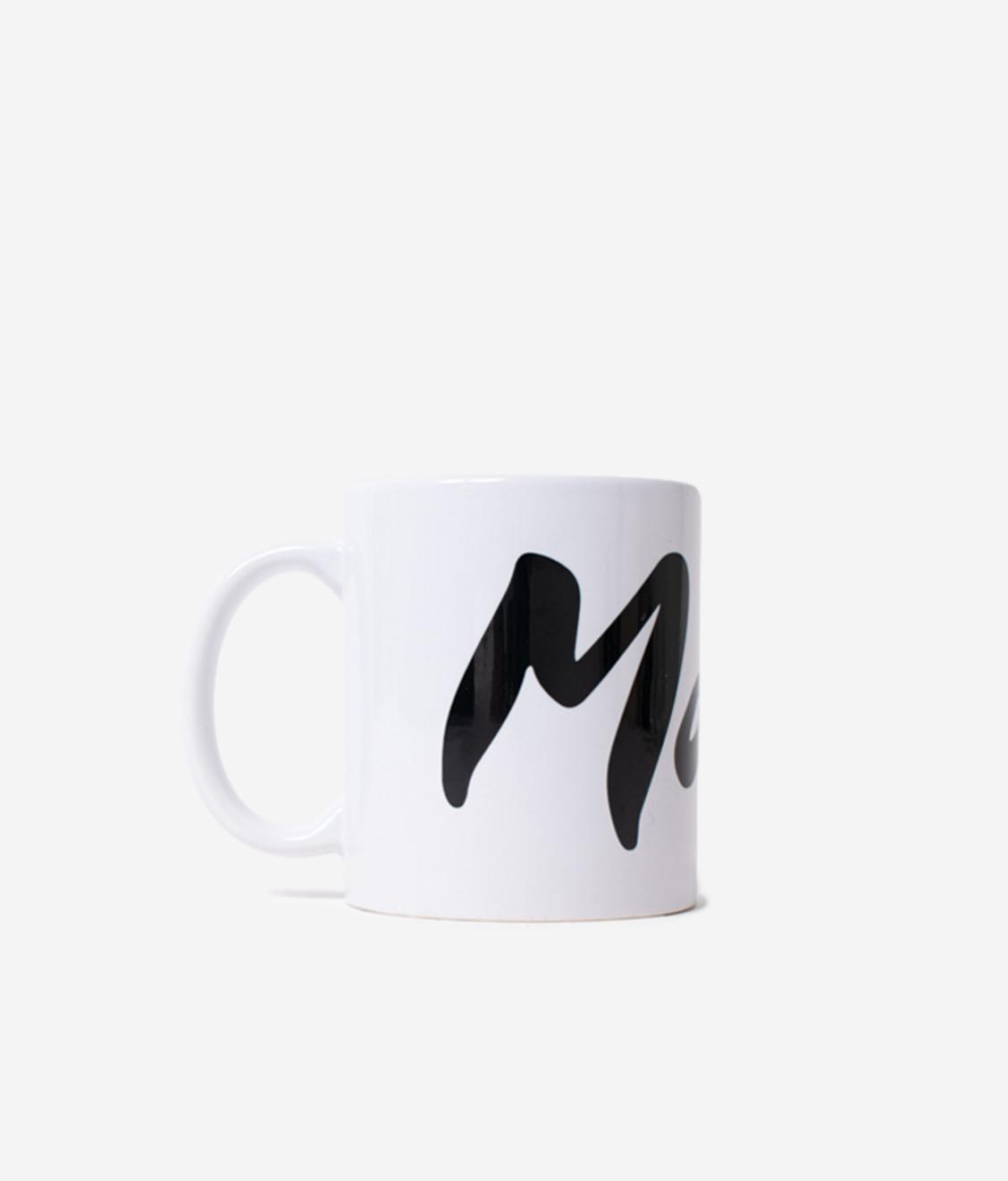 Maha Maha Logo Mug White Black