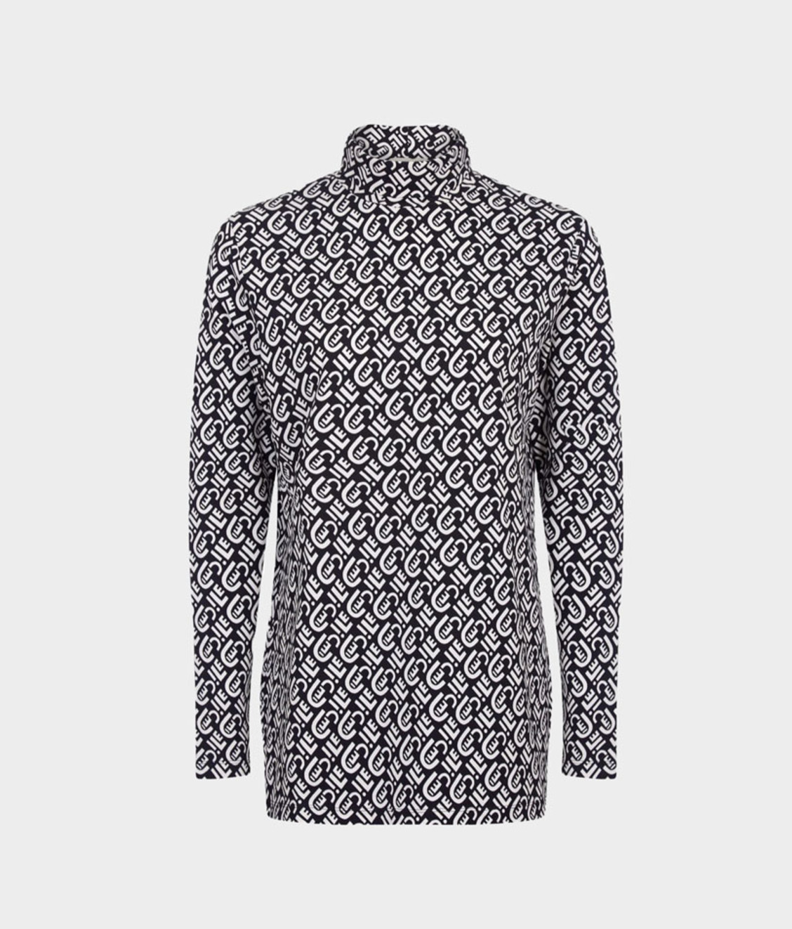 Etre Cecile Etre Cecile All Over Long Sleeve Roll Neck T-Shirt