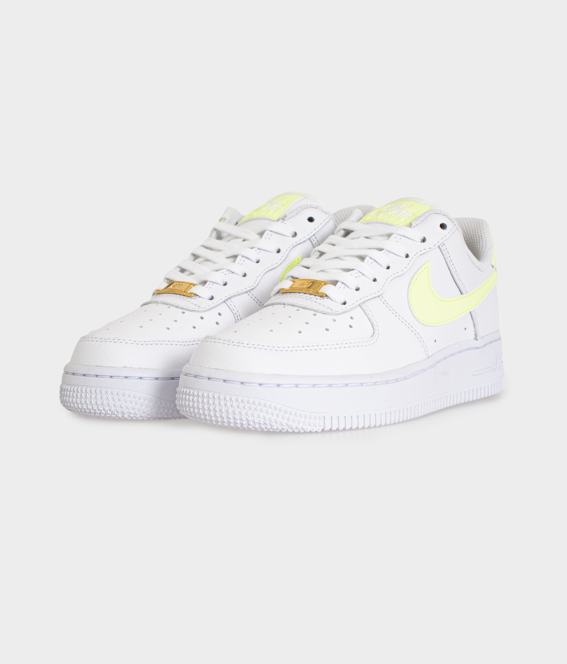 Nike Nike Air Force 1 '07 White Barely Volt
