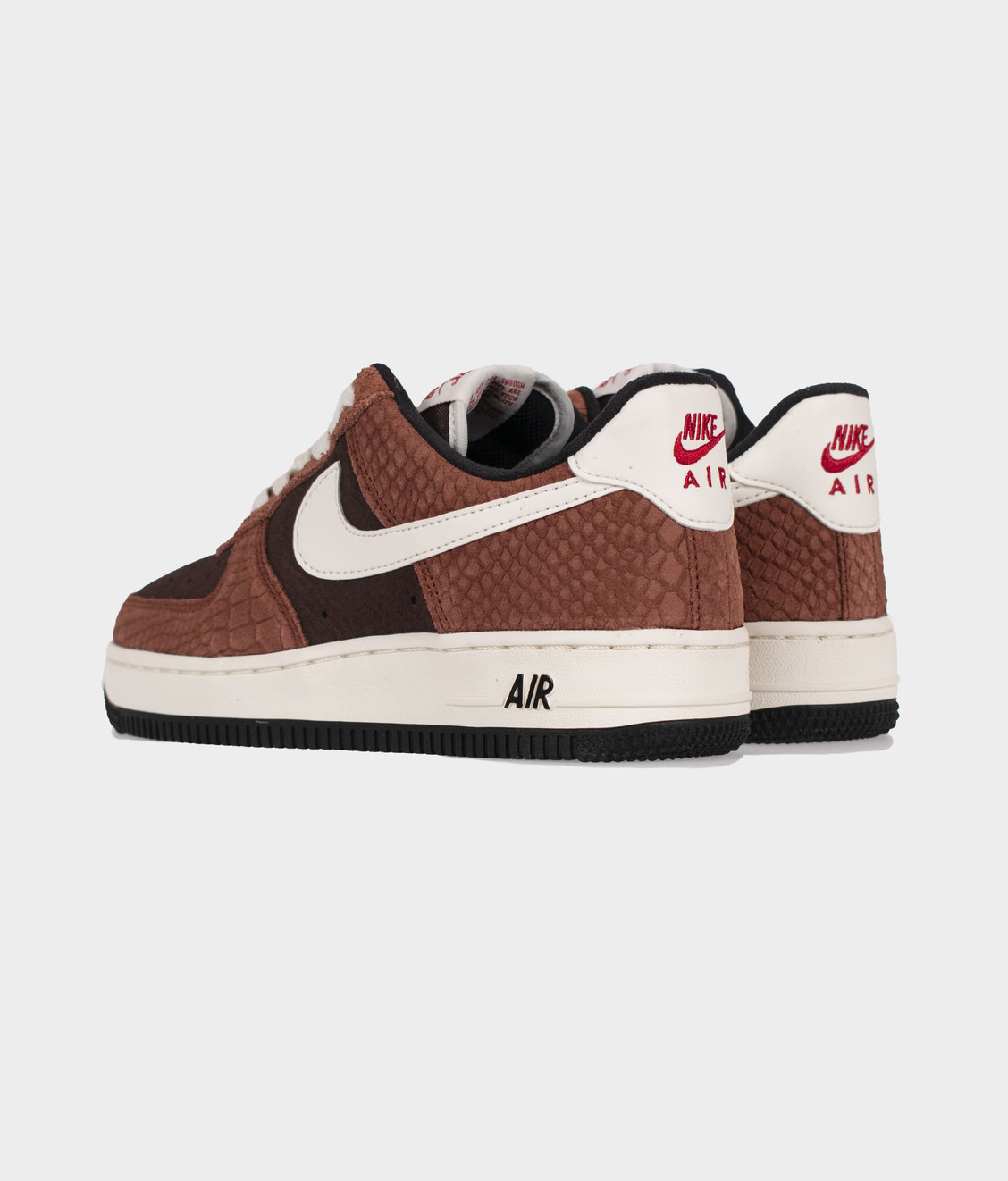 Nike Nike Air Force 1 PRM Red Bark