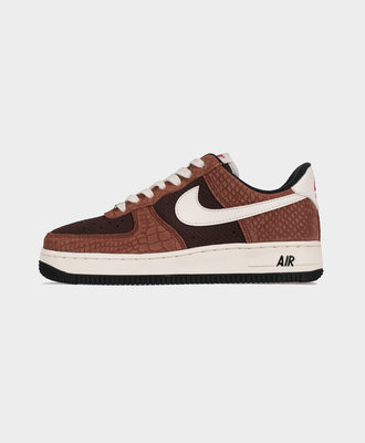 Nike Nike Air Force 1 PRM Red Bark