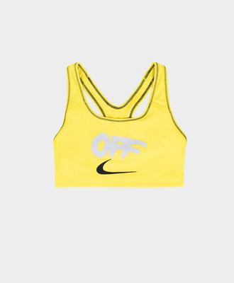 Nike Nike x Off White Pro Classic Bralette Opti Yellow
