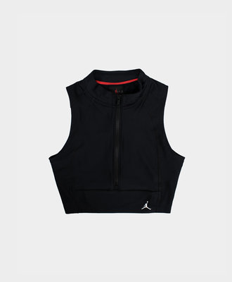 Nike Jordan Body Con Crop Top Black