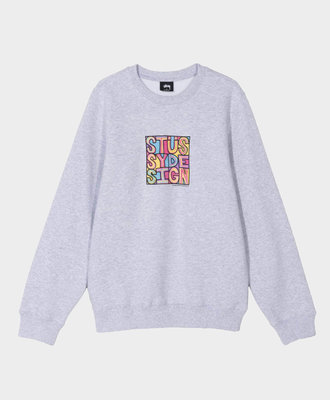 Stussy Stussy Clyde Crew Ash Heather
