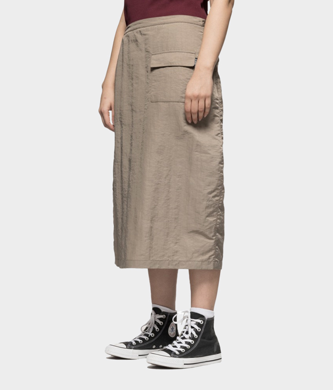 Stussy Stussy Nylon Convertible Appron Dress Taupe